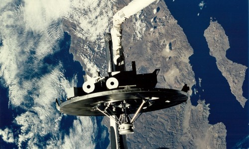 Did UFOs Visit STS-80 Columbia?