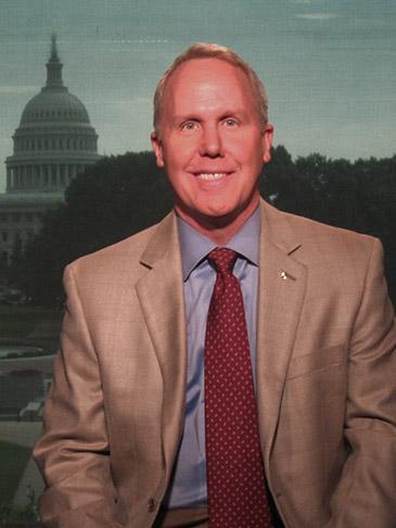 Tom on Fox News DC Bureau set 9-24-09