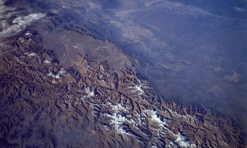 High Above the Andes on STS-59, Endeavour