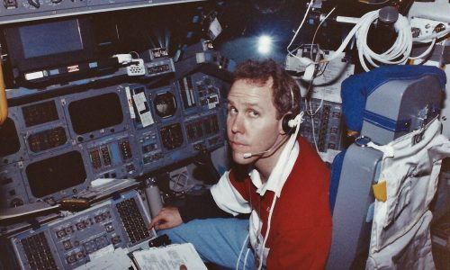 Training for STS-80 Columbia